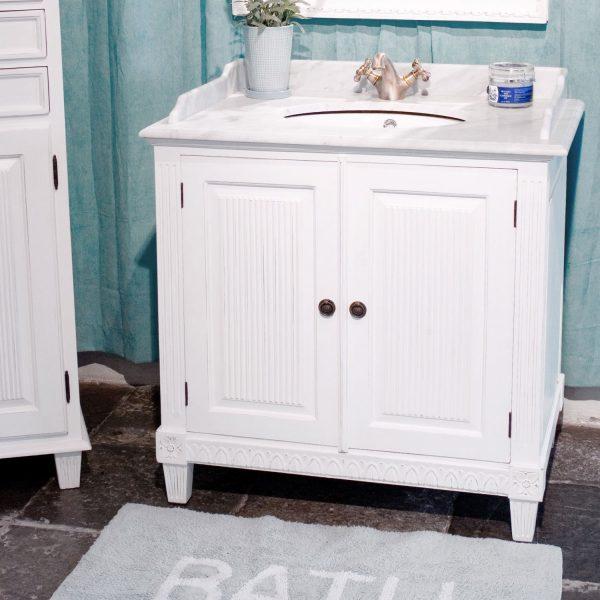 Gustaviansk baderomskap med 1 vask