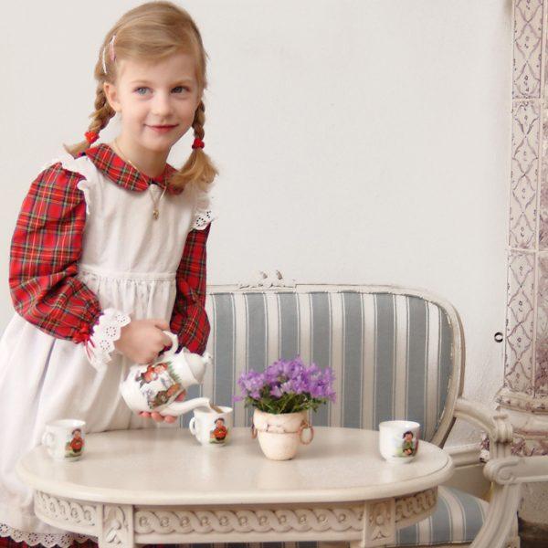 Gustaviansk barnesofa Rosen mini