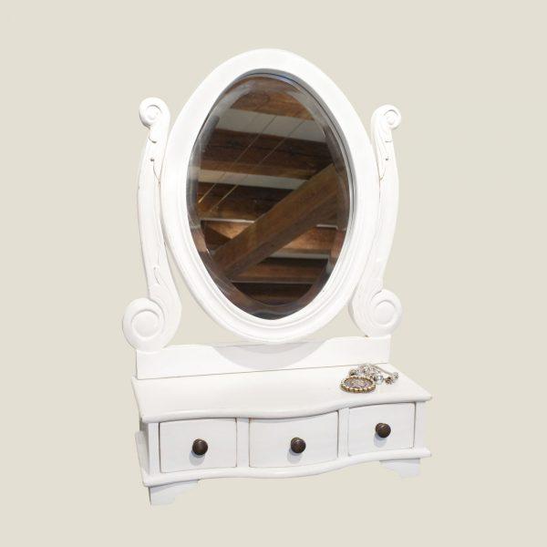 Mini dressing mirror